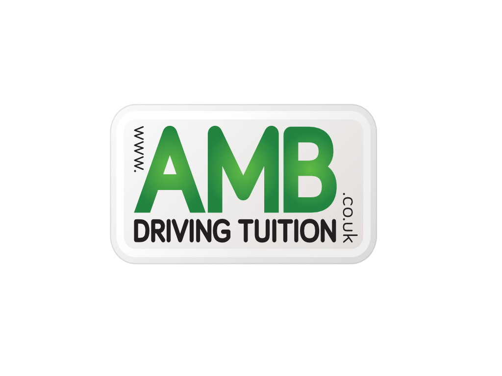 AMB Driving Tuition Logo - Client of Exeter website & logo designer One Bright Spark