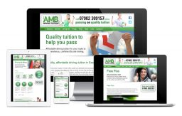 AMB Driving Tuition website