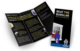 Beat the burglar leaflet