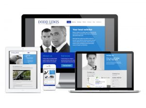 Bold Legal micro website, web design & development by Exeter's One Bright Spark