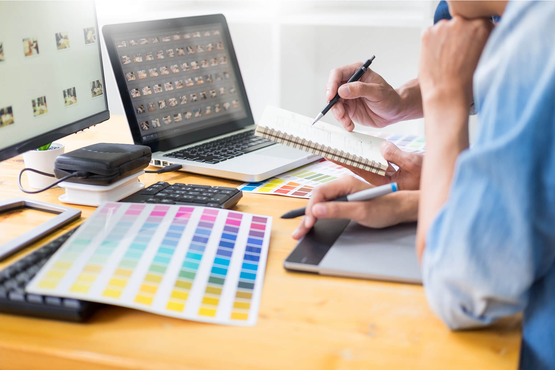 Brand & logo design Exeter - Get started with One Bright Spark Square