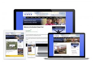 Buckland Chapel Trust website, web design & development by Exeter's One Bright Spark