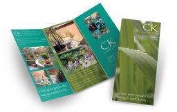 CK Landscapes leaflet