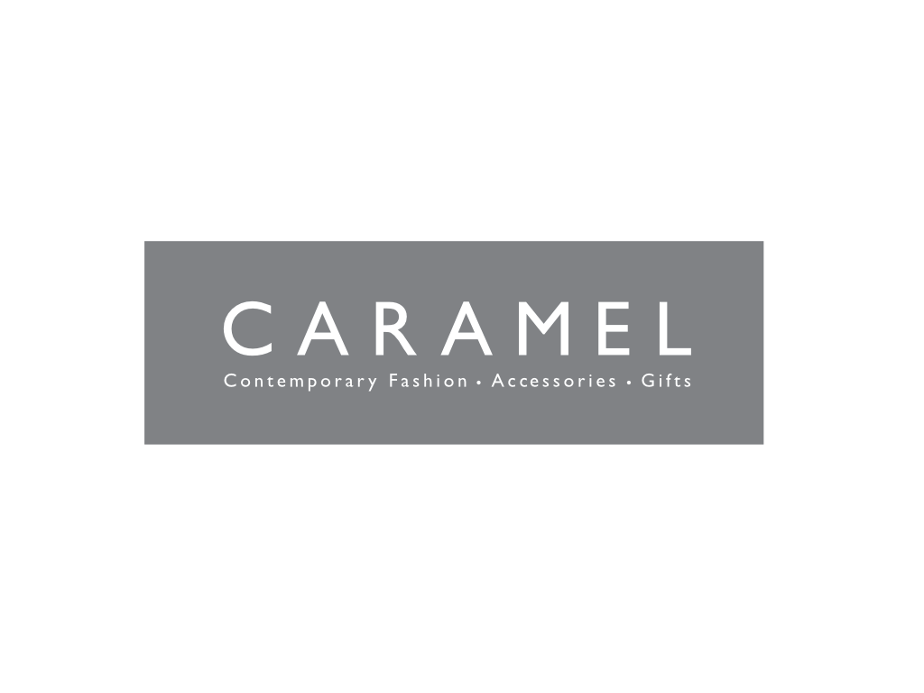 Caramel Contemporary Fashion Logo - Client of Exeter website & logo designer One Bright Spark