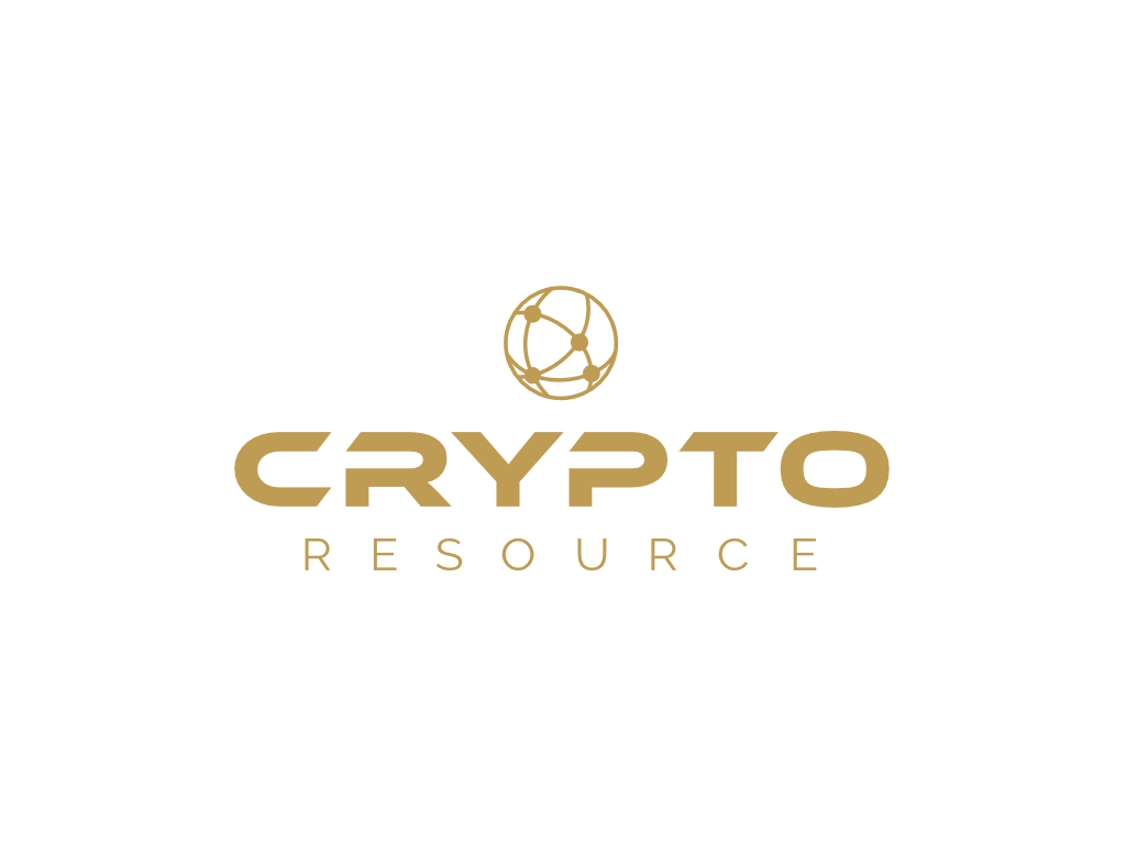 Crypto Resource Logo - Client of Exeter website & logo designer One Bright Spark