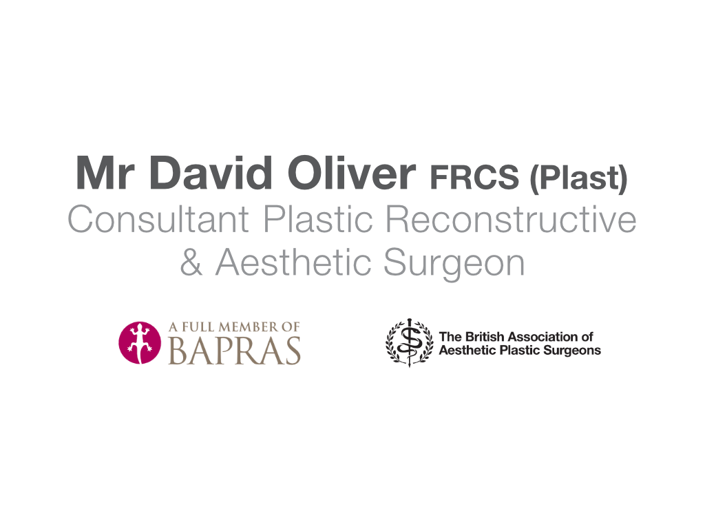 David Oliver Cosmetic Surgeon Logo - Client of Exeter website & logo designer One Bright Spark