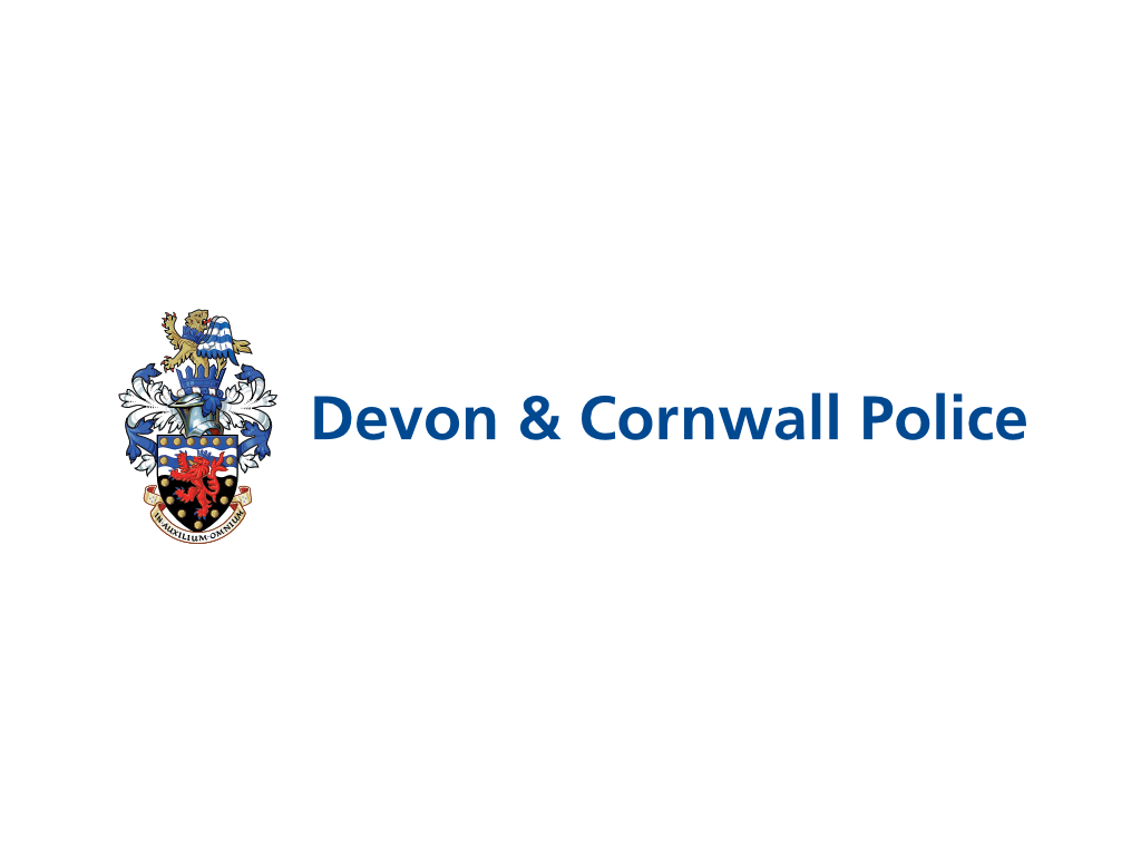 Devon & Cornwall Police Logo - Client of Exeter website & logo designer One Bright Spark