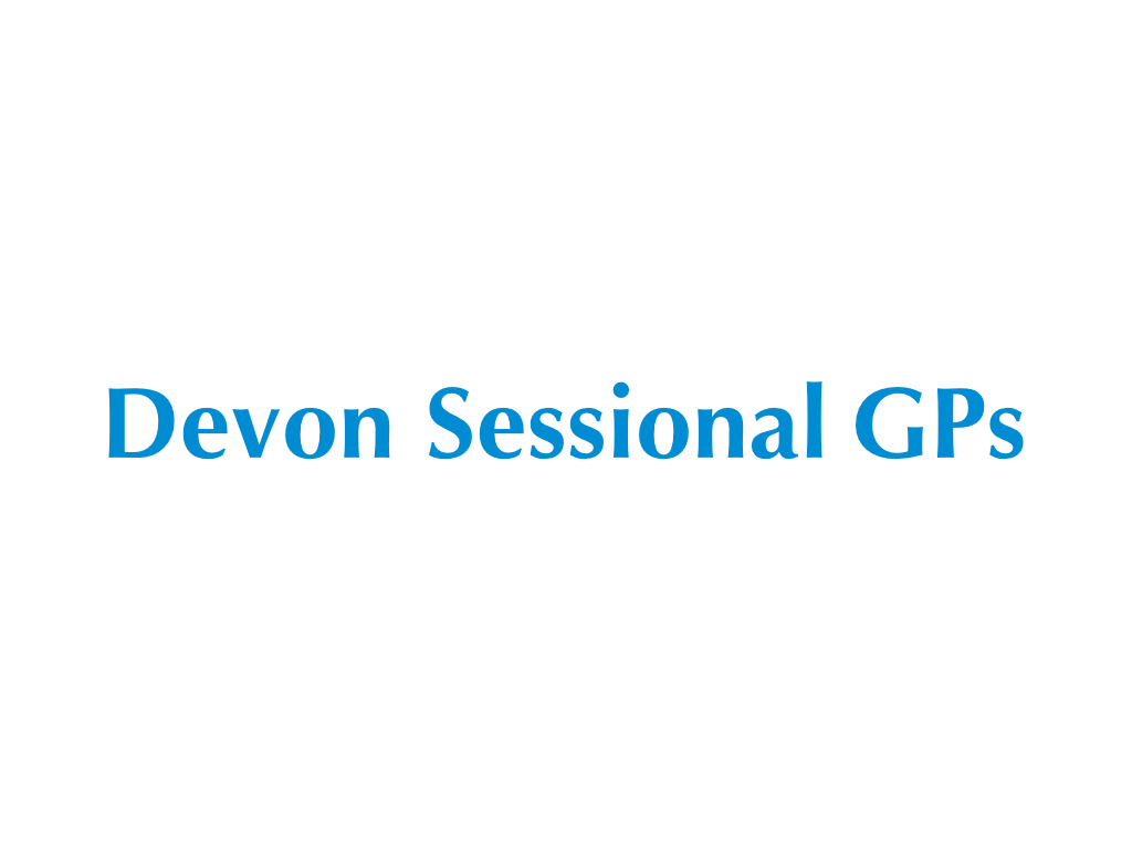 Devon Sessional GPs Logo - Client of Exeter website & logo designer One Bright Spark