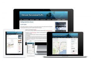 Devon Sessional GPs website by One Bright Spark in Exeter, Devon