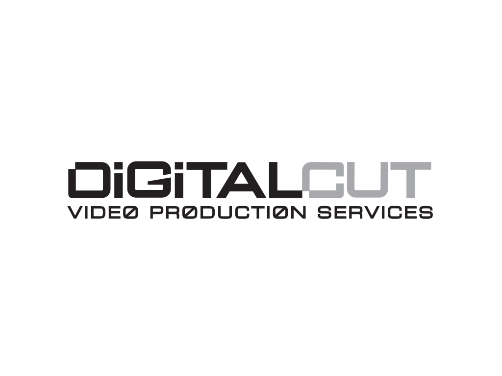 Digital Cut Video Production Logo - Client of Exeter website & logo designer One Bright Spark