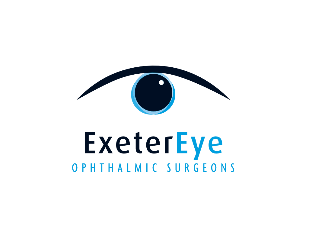 Exeter Eye Opthalmic Surgeons Logo - Client of Exeter website & logo designer One Bright Spark