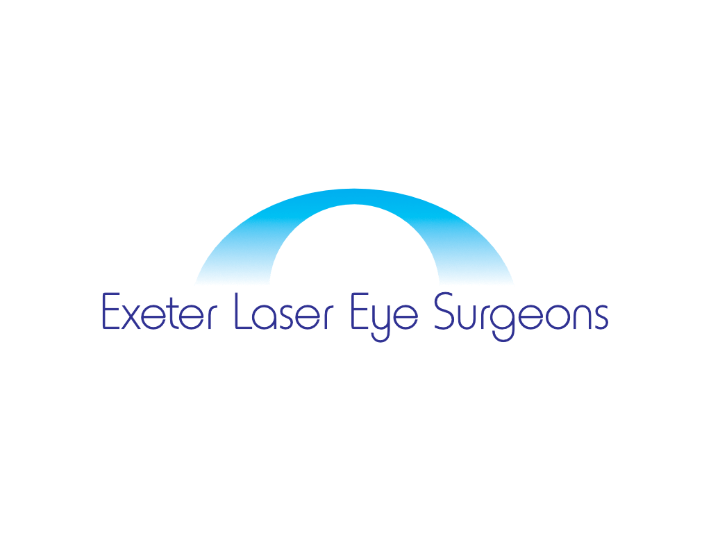 Exeter Laser Eye Surgeons Logo - Client of Exeter website & logo designer One Bright Spark