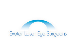 Exeter Laser Eye Surgeons logo brand Identity by One Bright Spark of Exeter, Devon