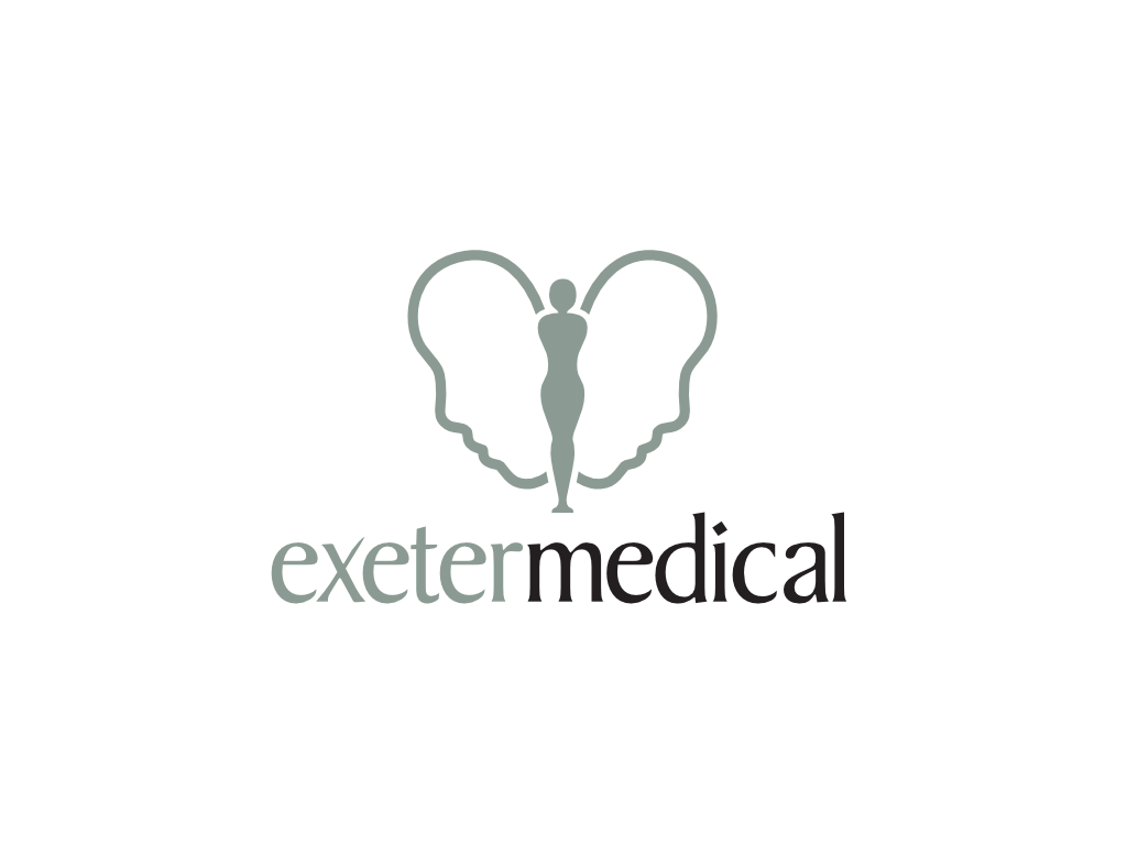 Exeter Medical Logo - Client of Exeter website & logo designer One Bright Spark