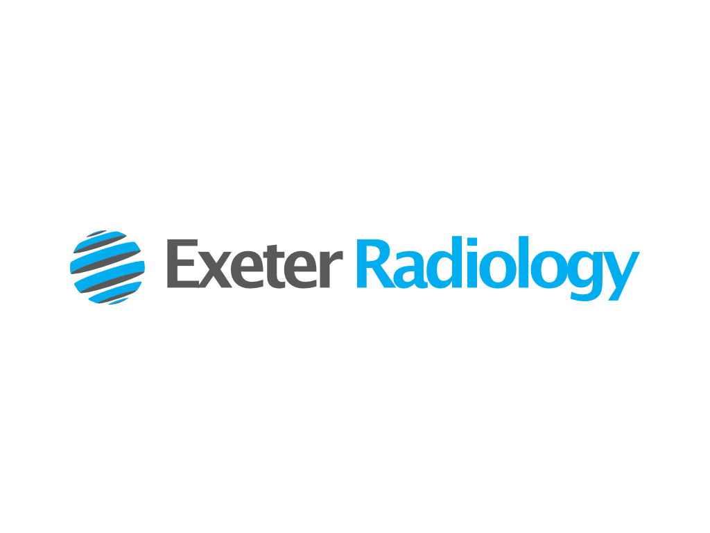 Exeter Radiology Logo - Client of Exeter website & logo designer One Bright Spark
