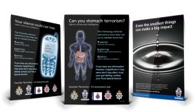 Fighting terrorism posters
