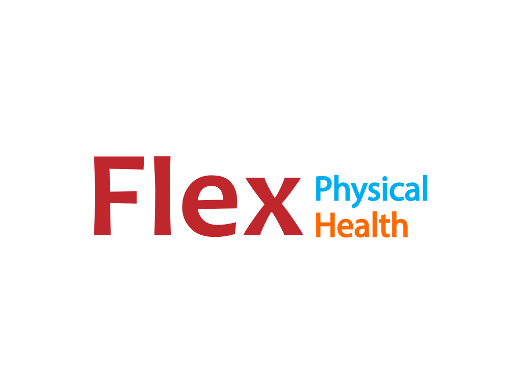 Flex Physical Health Logo - Client of Exeter website & logo designer One Bright Spark