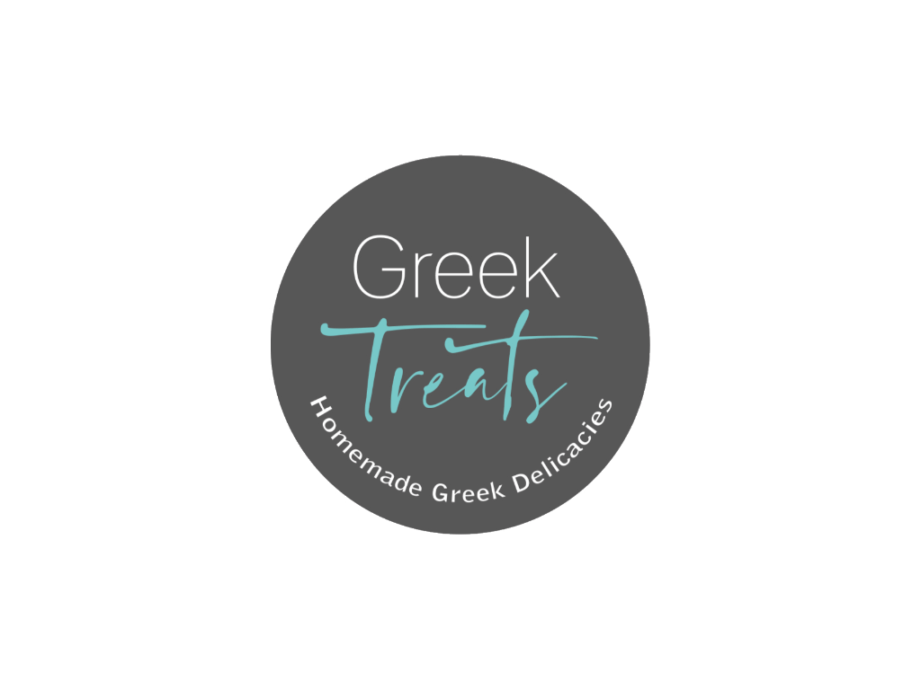 Greek Treats Logo - Client of Exeter website & logo designer One Bright Spark