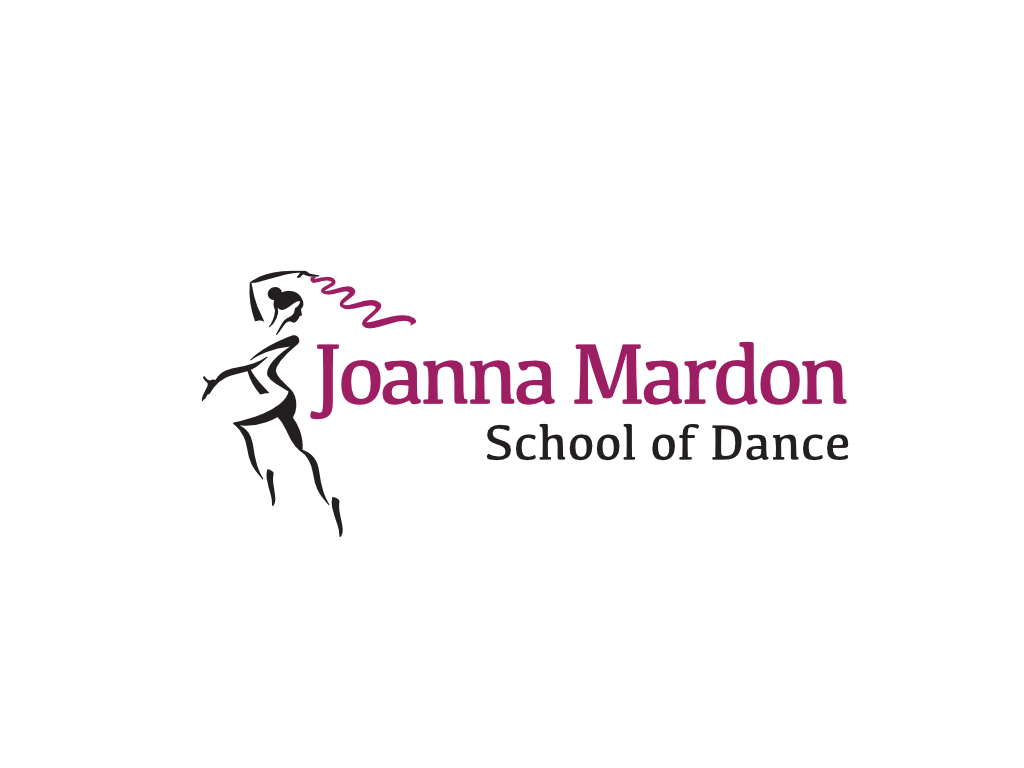 Joanna Mardon School of Dance Logo - Client of Exeter website & logo designer One Bright Spark