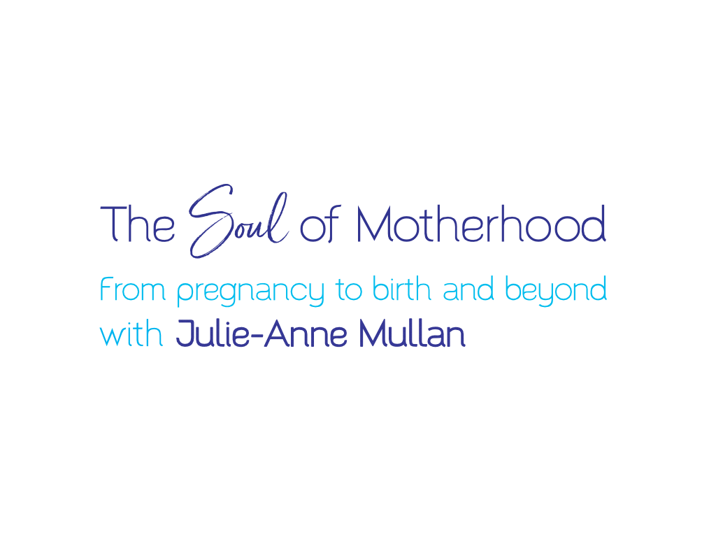 Julie-Anne Mullan Birthing Coach Logo - Client of Exeter website & logo designer One Bright Spark