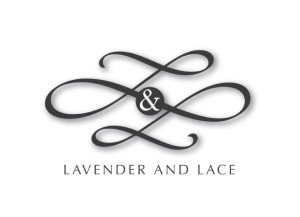 Lavender & Lace logo brand Identity by One Bright Spark of Exeter, Devon