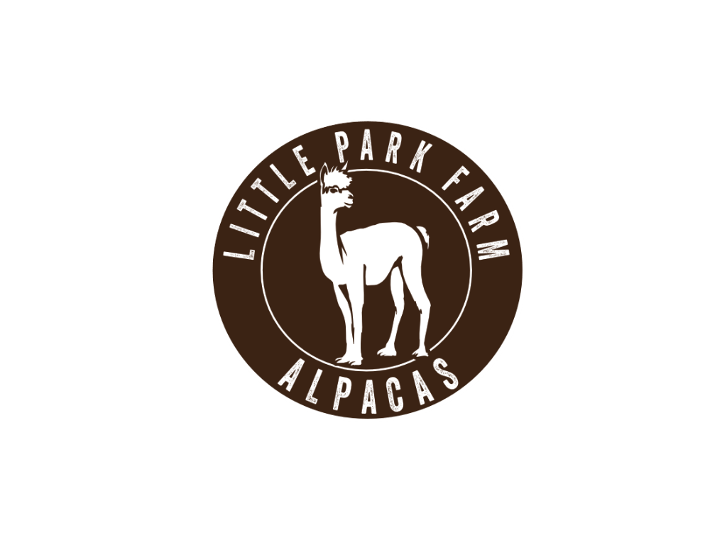 Little Park Farm Alpacas Logo - Client of Exeter website & logo designer One Bright Spark