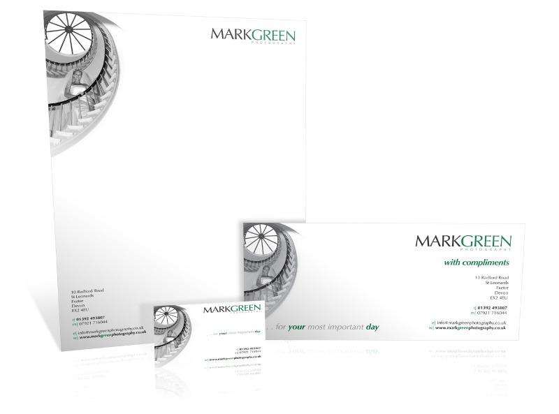 Mark Green stationery