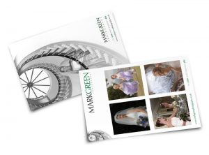 Mark Green Photography postcard graphic design & print by One Bright Spark of Exeter, Devon
