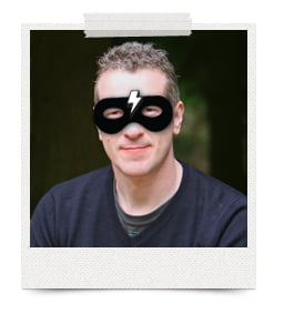 Masked Marketer & Dynamic Designer One Bright Spark protecting Exeter & the South West from miscommunication