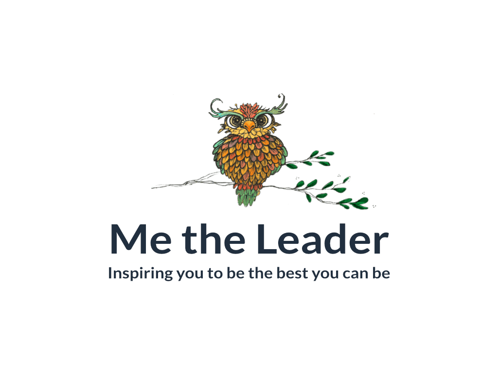 Me the leader Logo - Client of Exeter website & logo designer One Bright Spark