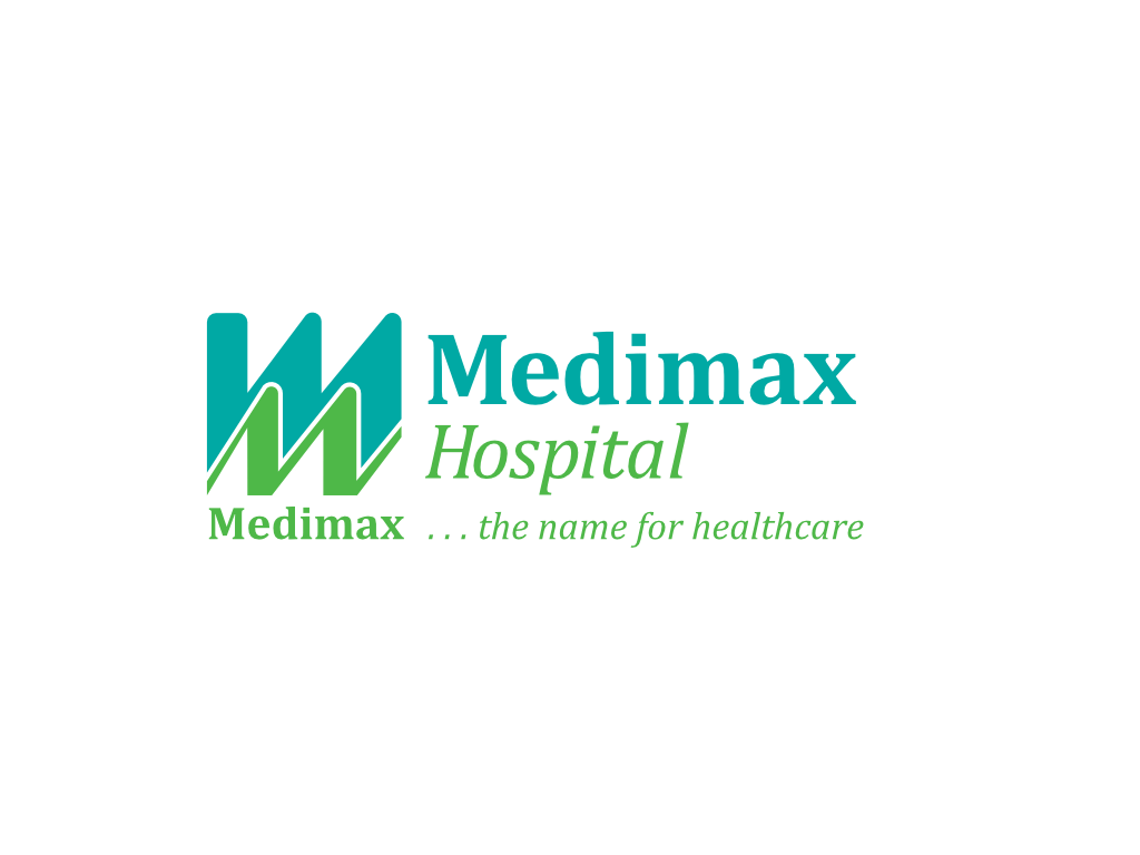 Medi Max Hospital Logo - Client of Exeter website & logo designer One Bright Spark