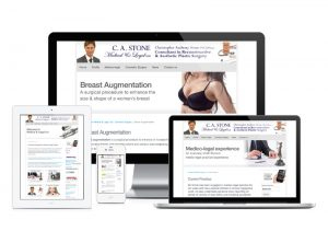 Medical & Legal C A Stone website, web design & development by Exeter's One Bright Spark