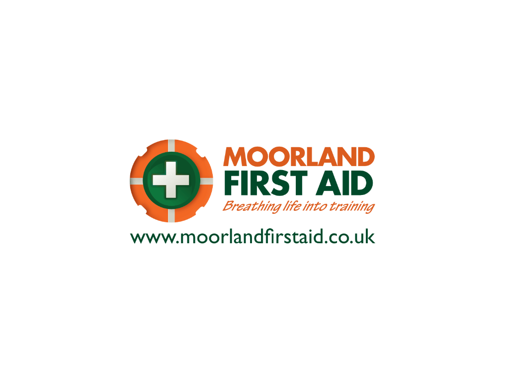 Moorland First Aid Logo - Client of Exeter website & logo designer One Bright Spark