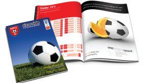 Moors Football programme