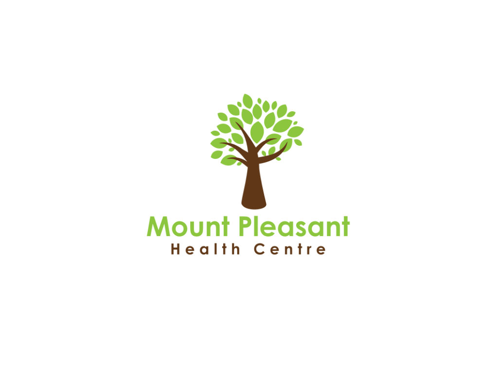 Mount Pleasant Health Centre Logo - Client of Exeter website & logo designer One Bright Spark