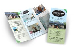 Mulberry Holiday Cottage leaflet