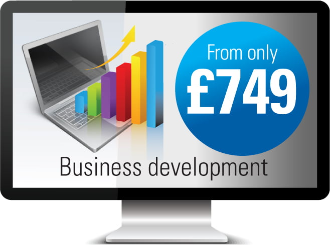 One Bright Spark business development websites from £749