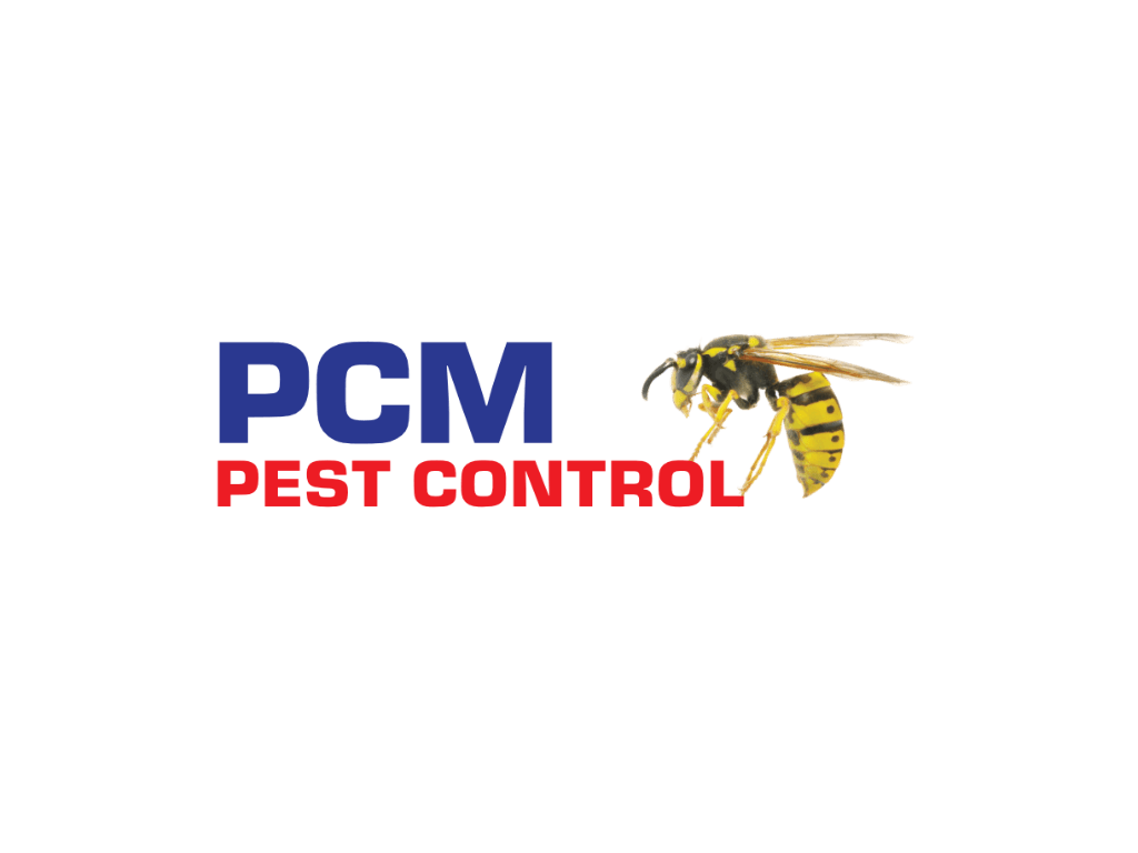 PCM Pest Control Logo - Client of Exeter website & logo designer One Bright Spark