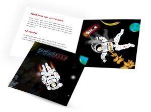PROBE Protective Behaviours booklet graphic design & print by One Bright Spark of Exeter, Devon