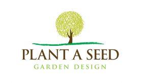 Plant A Seed Garden Design logo