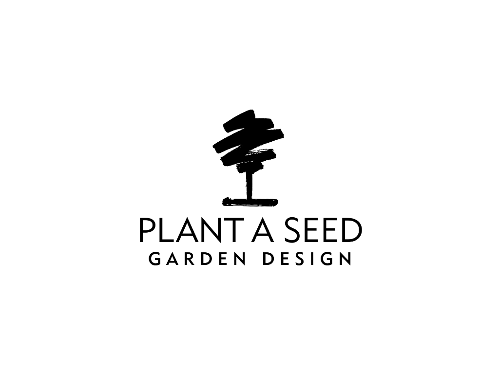 Plant A Seed Garden Design Logo - Client of Exeter website & logo designer One Bright Spark