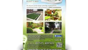 Plant A Seed flyer