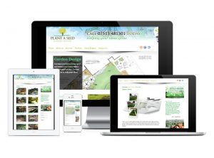 Plant A Seed Garden Design website, web design & development by Exeter's One Bright Spark