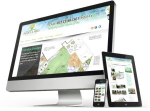 Plant A Seed Garden design website by Exeter based One Bright Spark