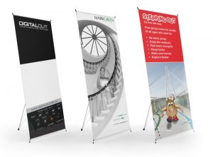 Display pop up banner graphic design & print by One Bright Spark of Exeter, Devon