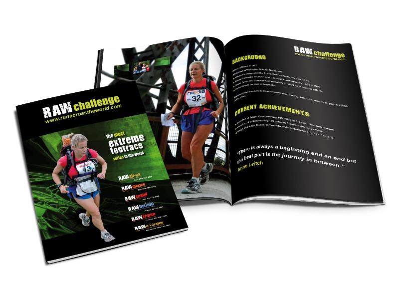 RAW Challenge brochure