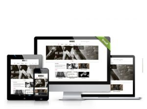 Responsive web design by one bright spark