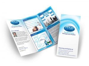 SVMP flyer graphic design & print by One Bright Spark of Exeter, Devon