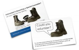 Special Constable postcards