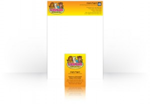 One Bright Spark Portfolio Stationery - Little Cubs Childminding